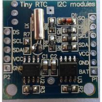 Reloj Clock Tiny Rtc Ds1307 Eeprom 24c32 Bateria Arduino