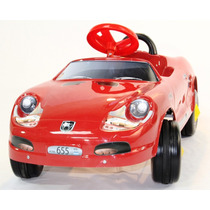 Auto Infantil Porsche A Pedal Karting Carroceria Pvc Niño/a