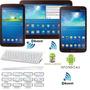 Teclado Bluetooth Blanco: Android P/samsung Galaxy Tab/ipad