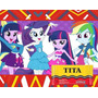 Kit Imprimible My Little Pony Cotillon Y Candy Imprimibles