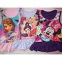 Vestido Remeron Para Bebes Con Personajes Minnie Princesas