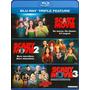 Blu-ray Scary Movie Trilogia / Incluye 3 Films