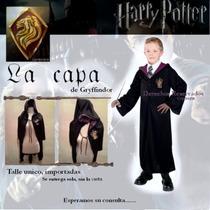 Dizfraz Harry Potter Capa Gryffindor No Varita Magica