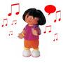 Dora Exploradora Musical Camina: Unica Grande Peluche