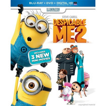 Blu-ray -- Despicable Me 2 // Blu-ray + Dvd
