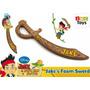 Espada Jake Y Los Piratas Goma Rigida. Disney Original!!