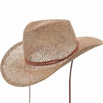 Sombrero Cowboy Yute Calado Compañia De Sombreros M523096-29
