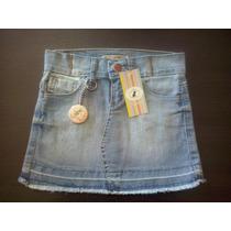 Minifalda De Jean Para Nenas