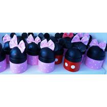 Alcancia Caramelero De Minnie Mickey Souvenirs