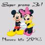 Kit Imprimible Mickey Y Minnie Cumple+candy+imagenes Y Mas