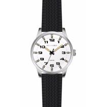 Reloj Perramus Waches P/hombre,malla Silicona Pr04-mswh