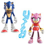 Sonic Boom Sonic & Amy Orininal Tommy 2 Muñecos