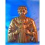 El Arcon Gran Figura De Bronce De Dios Y El Niño Jesus 51064