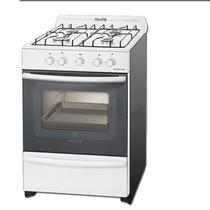Cocina Escorial Master 56 Cm Blanca Valvulas De Seguridad.