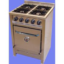 Cocina Industrial 1era Calidad 4 Horn Acero 60 Cm
