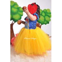 Disfraz Vestido De Princesa Blancanieves Falda De Tul