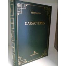 Caracteres Teofrasto Biblioteca Gredos