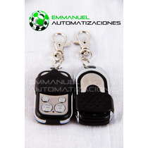 Control Remoto Llavero 4 Canales Para Portones Automáticos