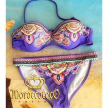 Malla Bikini Importada Estilo Victoria Secret