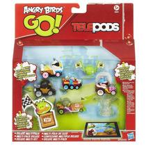 Angry Birds Telepods Mega Pack 5 Vehículos Kart Hasbro