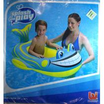 Inflable Flotador Bote Pez Agua Niños Bestway