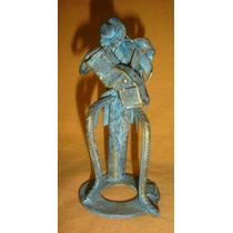 Escultura En Hierro Patinado Firmada Marjan Grum (01100)f