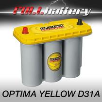 Batería Optima Yellow Mod D31a Náutica Estacionaria Dual