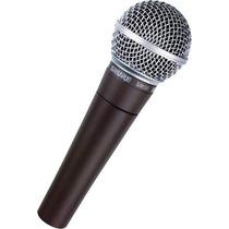 Microfono Shure Sm58 Profesional Dinamico Unidireccional