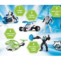 Max Steel Colección Mc Donalds 4 Unidades Nuevos