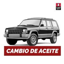 Cambio Aceite Y Filtro Jeep Cherokee 5.2 V8 Desde 1993