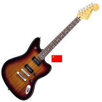 Fender Jaguar Modern Player Rwn 2 X Mp90 Chocolate Burst