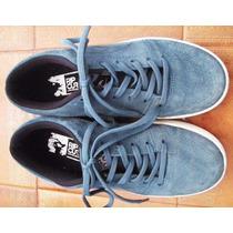 Zapatillas Rip Curl Gamuza Azul Talle 37 (usadas)