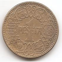 Moneda España 1 Peseta Año1944 Km#767