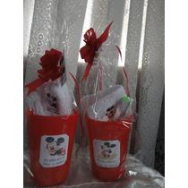 Souvenirs 10 Vasos + Toalla Personalizada + Cepillo Dientes