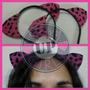 Orejas Gato / Animal Print Fuxia