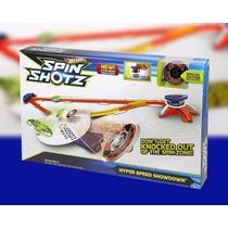 Spin Shotz Pista Trompos Con Lanzador