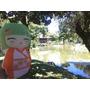 Almohadones Decorativos Figuras Muñecas Kokeshi Japón