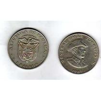 Antigua Moneda De Panama - 1 Balboa 1984 - Gral Torrijos