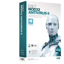 Eset Nod32 Antivirus Home 6 3pc X1año