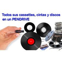 Todos Sus Discos, Vinilos, Cassettes En Un Pendrive