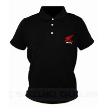 Chomba Honda Racing Remera Polo Original *gama* Nacional