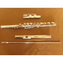 Flauta Traversa Yamaha 211 Sii Nº 490319 Made In Japan