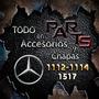 Parrilla Plastica 1114 Mod. Brasil Mercedes Benz Y Mas...