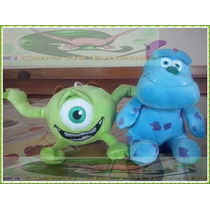 Pack Peluches Monsters Inc De Disney Pixar! Mike + Sullivan