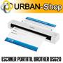 Escaner Brother Ds-620 Portatil Usb Pdf Ocr 8ppm Windows Mac
