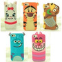 Fundas Silicona 3d Iphone 4 4s 5 5s 6 6 Plus Disney Animadas