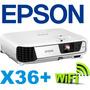 Proyector Epson Powerlite X36+ 3600 Lum Xga + Dongle Wifi