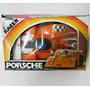Auto Antiguo Porsche 6 Wheel Racer En Blister