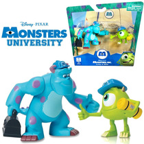 Monster Inc University Pack Doble Sulley & Mike Wazowsky