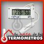 Termóhigrometro Digital Sensor Externo Humedad Y Temperatura